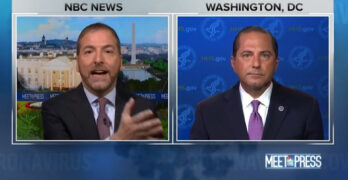 Chuck Todd scolds Trump's guy on face masks - You didn't answer my question