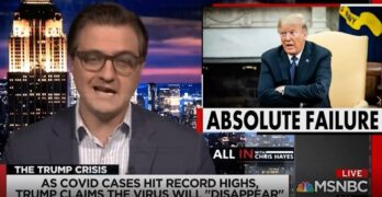 Chris Hayes lays into President: Trump must resign for COVID-19 catastrophe