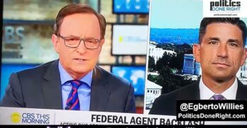 DHS secretary trips up on Portland when questioned by CBS
