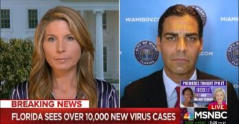 Host scolds a willfully ignorant Republican mayor blaming CDC for COVID-19 failure