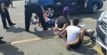 Innocent Black women & little girls handcuffed & mistreated by Aurora Colorado Police