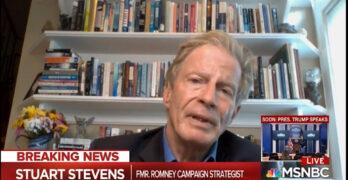 Republican Romney Strategist Stuart Stevens