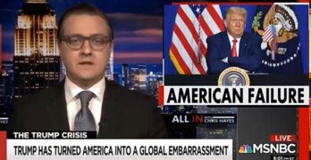 Chris Hayes: Trump made America the laughing stock of the world
