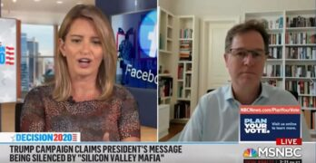MSNBC Katy Tur grills Facebook VP on taking down Trump's lying posts