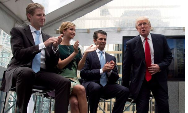 Trump Thuggish Family