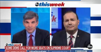 Watch Stephanopoulos allow Republican Senator to blatantly lie about the filibuster. MSM FAIL!