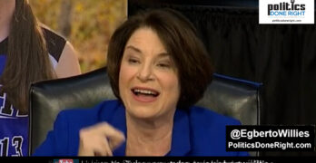 Amy Klobuchar - This isn't Trump's country or Judge. It is Yours. But we have a secret weapon.