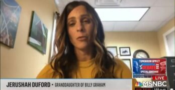 Billy Graham's granddaughter - I wish the Republicans would value life outside the womb more