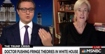 It's sick and it is evil Chris Hayes & former HHS Secretary on Trump's coronavirus policy.