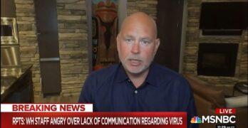 Steve Schmidt: Trump not FDR nor Churchill but a weak Mussolini