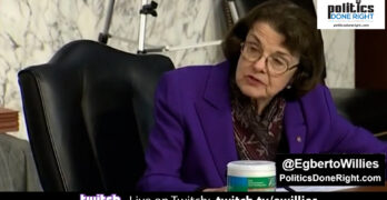 This Democrat, Dianne Feinstein said the wrong thing at the SCOTUS farcical hearing