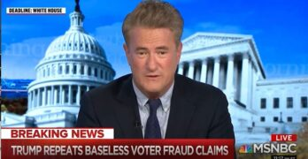 Joe Scarborough tells an inconvenient truth about the 2020 vote and Biden's bipartisanship