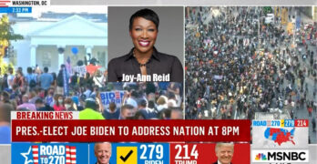 Joy-Ann Reid calls out the 70+ million Americans who forsook the lives Trump put in danger