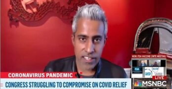 Anand Girirharadas to Dems: Where is the muscularity of the message in support of pandemic relief?