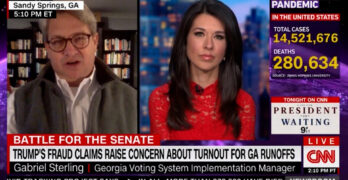 CNN host zings Georgia Republican election hero attempting to pose a false equivalence with Democrats