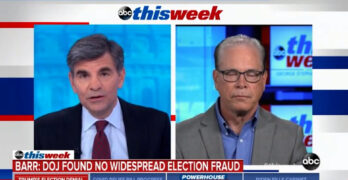George Stephanopoulos embarasses Republican Senator spinning another voter fraud lie with reality