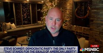 Former McCain strategist Steve Schmidt explains why an autocratic GOP made him a registered Democrat.