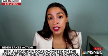 Alexandria Ocasio-Cortez: 'There are legitimate white supremacists sympathizers' in Congress