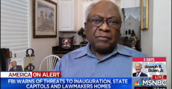 Rep. Clyburn calls them out as a hate group and reveals an American unfortunate truth