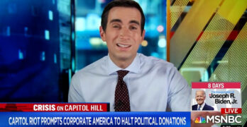 Sorkin on companies' suspension of political donations - Some of them have funded sedition
