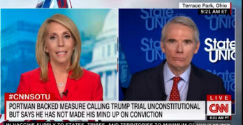 CNN Dana Bash dings Senator with his own words on Trump's insurrection culpability