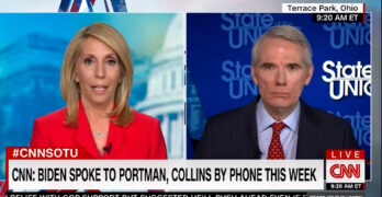 "CNN Host Dana Bash calls out Senator on COVID bill: ""Explain why it was OK for Republicans and not Democrats."""
