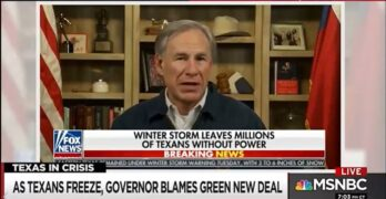 Governor Greg Abbott exposed as Texas; Liar-In-Chief by All-In's Chris Hayes