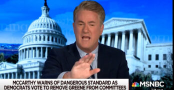 Joe Scarborough ridicules Kevin McCarthy & his Democratic list - The 4yrs of McCarthyism are over.