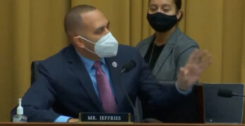 Rep. Hakeem Jeffries' (D-NY) epic takedown of insurrection supporter Rep. Burgess Owens (R-UT)