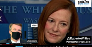 W.H. Press Secretary Jen Psaki turns the table on reporter's question on working with Republicans