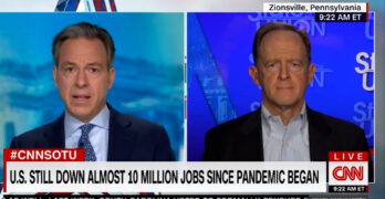 Tapper embarrasses Sen. Toomey with his own words after he went after Biden for using reconciliation