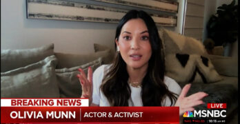 Asian Actor /Activist Olivia Munn explains the forced invisibility of people of color