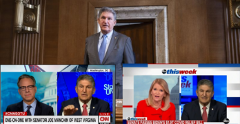 CNN's Tapper & ABC's Raddatz asked Sen. Joe Manchin the inconvenient questions & got naive answers
