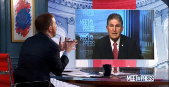 Chuck Todd schools Sen. Manchin- Filibuster never was never an idea of the Founding Fathers