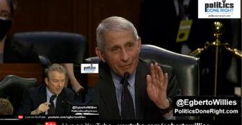 Dr. Anthony Fauci schools an ignorant Senator Rand Paul on COVID, Variants, & Masks