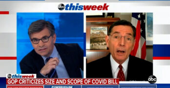 Here's how Stephanopoulos should have handled GOP Sen. John Barrasso's America Rescue Plan lies
