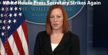 WH Press Sec. Jen Psaki throws the bipartisanship question back at Republicans. You are the outliers