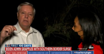 Lindsey Graham displays his inhumanity and evil with his statement at the Texas/Mexico border