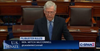 Mitch McConnell tried to scare Democrats from killing the filibuster