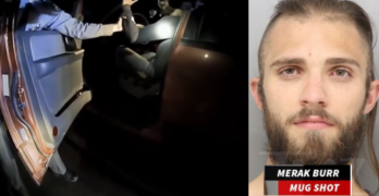 He did not comply, had a gun, threatened the cop, drove off, wasn't shot, is white. He lived!
