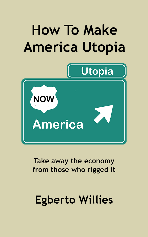 How to Make America, Utopia (Front Cover) Kindle