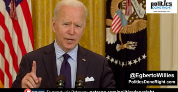 Biden on top of his game: Snuffes out GOP narrative blaming rescue plan for fewer jobs created.