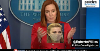 Jen Psaki is cool as she dismantles an incompetent 'People are saying' Newsmax Right-Wing reporter.
