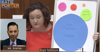 Rep. Katie Porter grills executive about the lying thievery of the pharmaceutical company