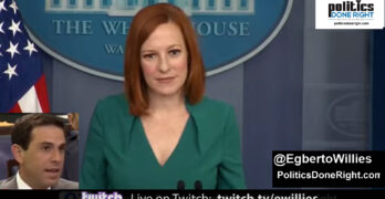 The reporter asked Jen Psaki a question he should've asked Republicans and she schooled him for it.