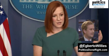 WH Press Secretary Jen Psaki throws shade on Trump as she answers Fox News Reporter's silly question