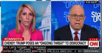 Yep! Republican Gov: Trump's TOXIC. GOP showing insanity & signals BIG LIE deniers not wanted.