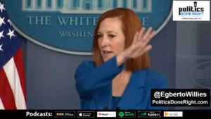 Watch Jen Psaki use reporters questions to throw shade on a Republican Party in complete disarray.