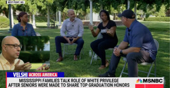 Ali Velshi interview w- cheated & privileged valedictorian families a teaching moment America needs