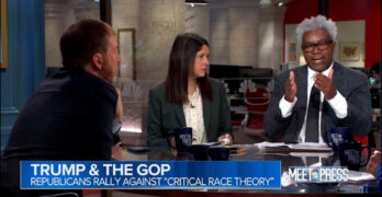 Democratic Op calls out GOP Op on Critical Race Theory: 'Not grassroots.' 'Organized & paid for.'